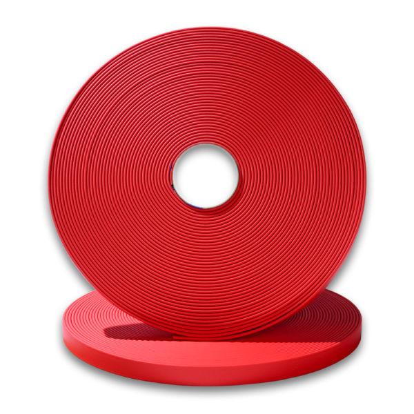 longe biothane rouge 9mm