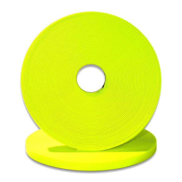 longe biothane jaune 9mm