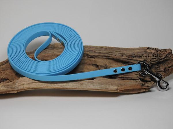 longe biothane bleu 12mm