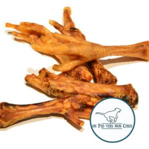 pâte de poulet séché à mastiquer pour chiot